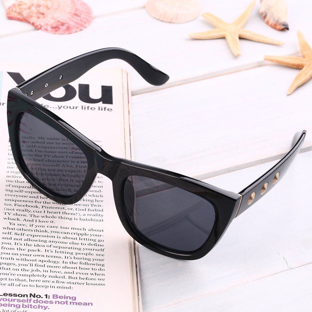Retro Cool Unisex Adults UV400 Outdoor Cycling Big Full Frame Sunglasses