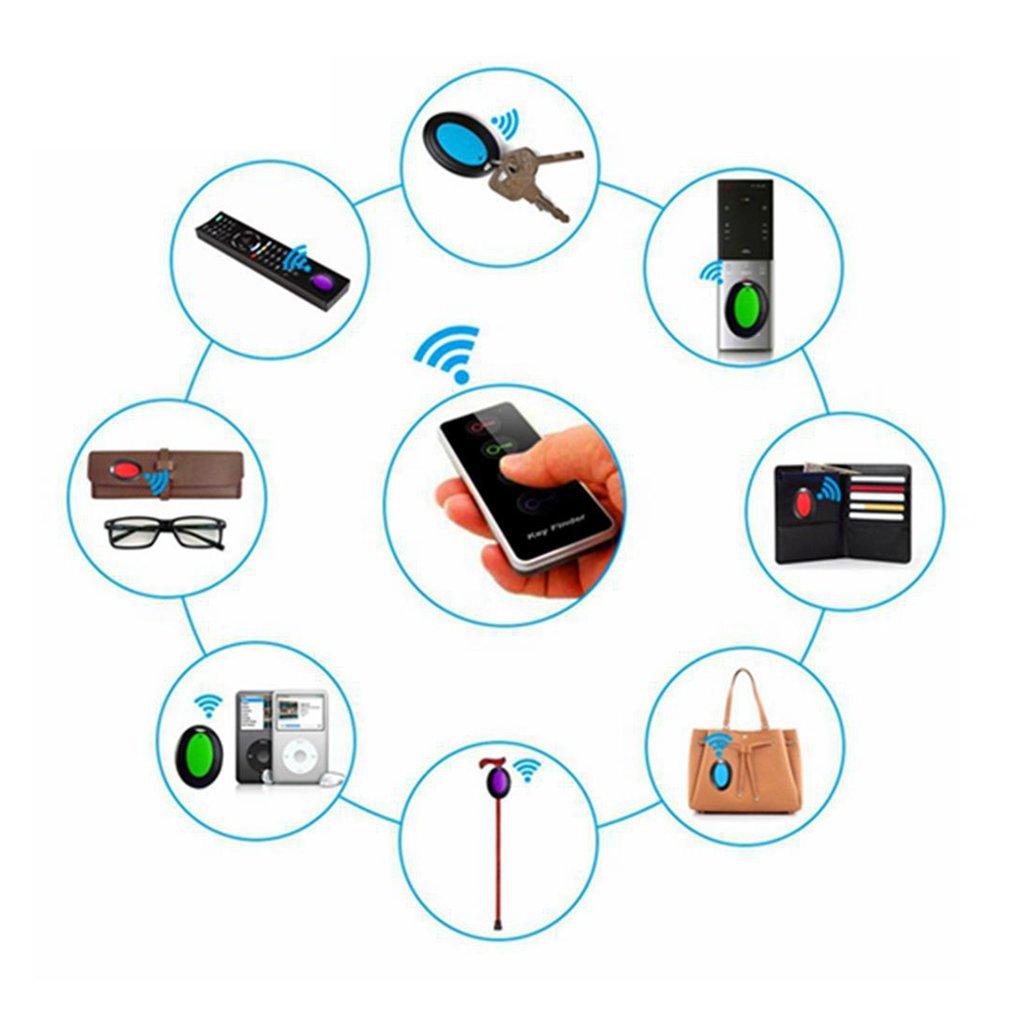 4 in 1 Electronic Wireless Key Finder Set Locator Key Tracker With Dock Base