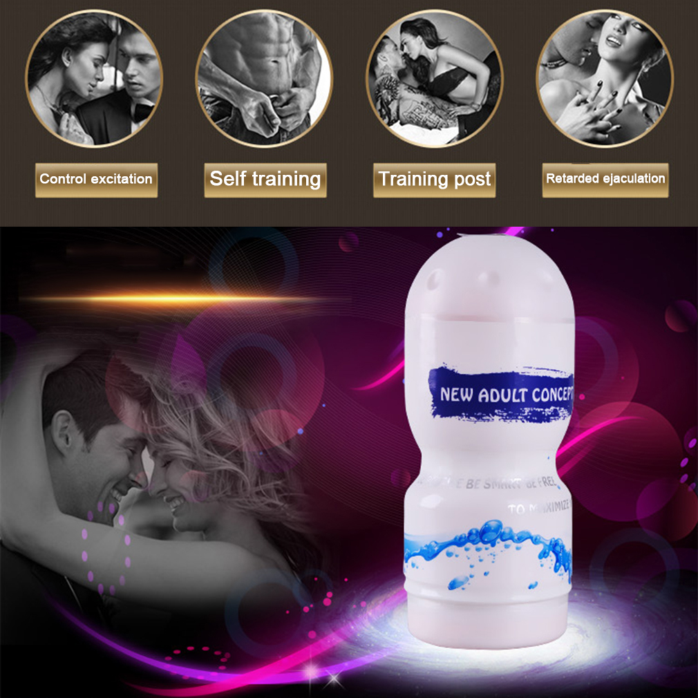 Sexy Toys Men Aircraft Cup Silicone Masturbation Massager Pussy Sucking Cup