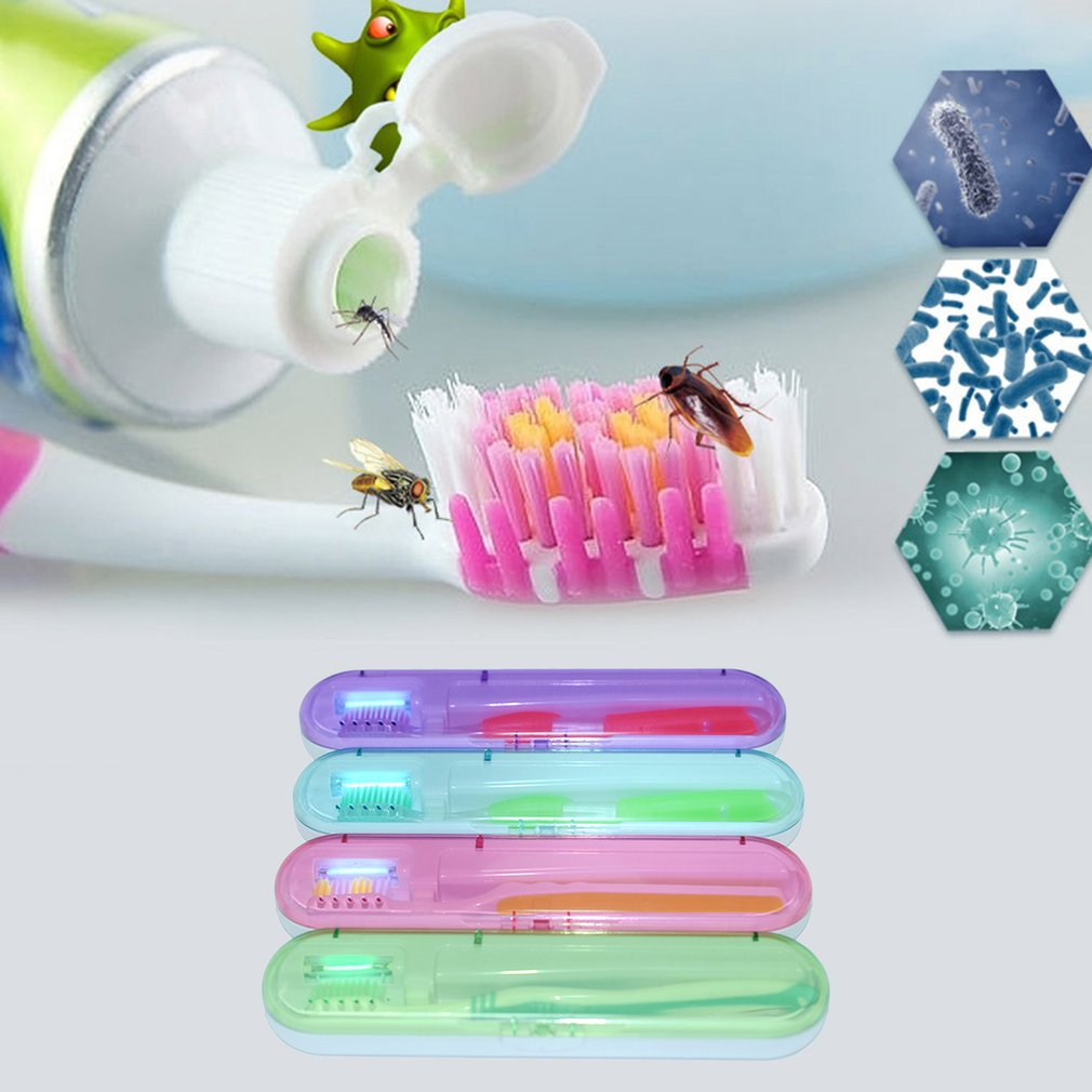 Home Portable UV Disinfection Toothbrush Case Box Toothbrush Head Sterilizer