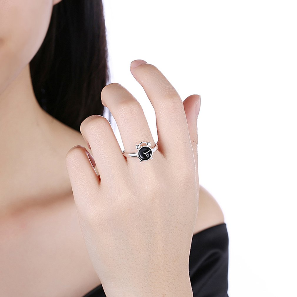 Women's Clock Shape Ring