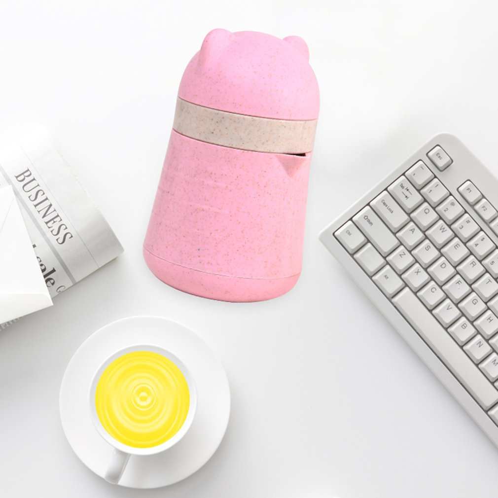 Mini Fruit Juicer Hand Press Manual Lemon Orange Juicer Bottle Cup Squeezer