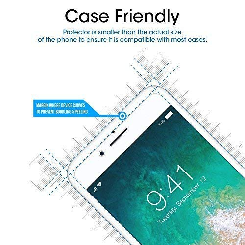 Tempered Glass Screen Protector for iPhone 8/7/6/6S/6PLUS/6S PLUS/7PLUS/8P/X/XS/XR/XS-MAX