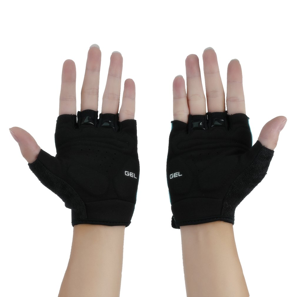 Outdoor Bike Bicycle Breathable Sport GEL Cycling Half FInger Gloves
