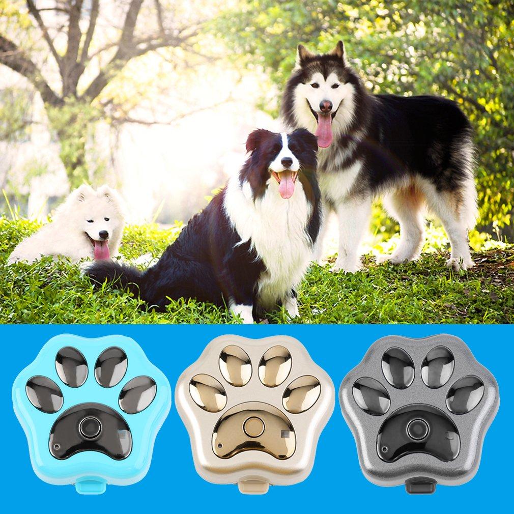 Wifi Pet Tag Anti-lost Smart GPS Tracker Alarm Paw Shaped Dogs Locator