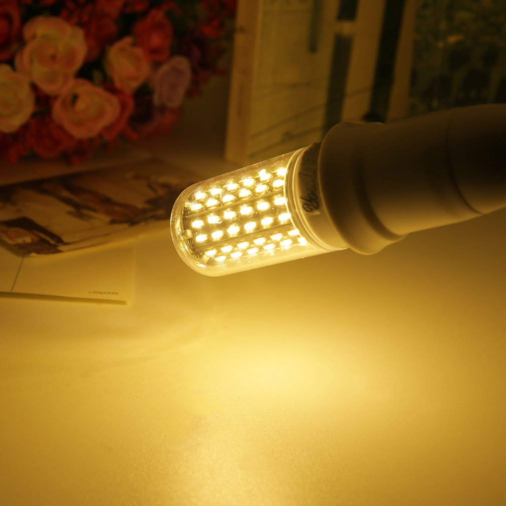 E27 12W Warm/Cool White 96 LED Corn Bulb Light 4014 SMD Lamp 110V-120V