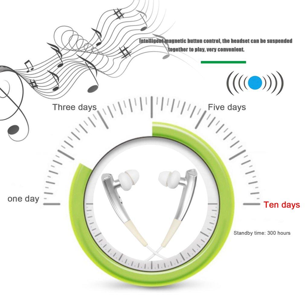 R130 CSR8635 Chip Neck Hanging Wireless Bluetooth Sport Running Music Earphone