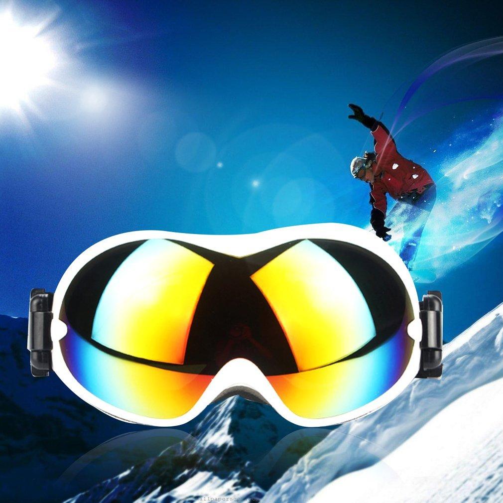 Unisex Ski Goggles UV400 Skiing Snowboard Anti-sand Windproof Eyewear HQ800