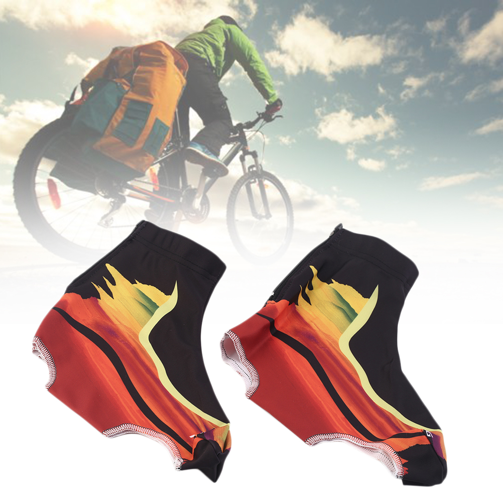 Men Women Brush Style Breathable Riding Bicycle Road Anti Dust Shoes Cover