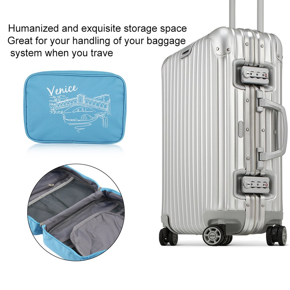 Trip Storage Package Travel Waterproof Bathroom Toilet Hanging Wash Bag