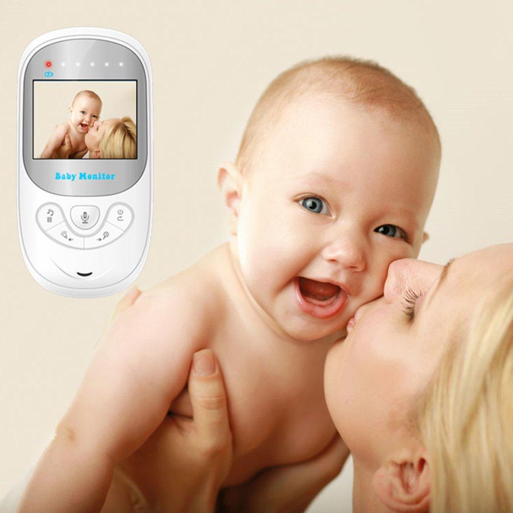 BM108 2.4 Inch Wireless Baby Night Vision Temperature Monitoring Camera