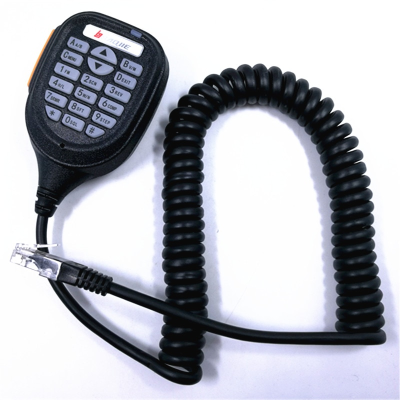 Baojie BJ-218 Speaker Mic Microphone for Baojie BJ-218 Zastone Z218 Mini Mobile Radio Car Radio Walkie Talkie