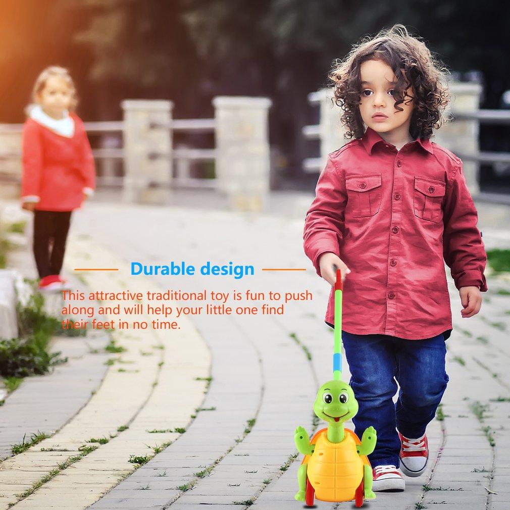 Push Animal Toys Turtle Shaped Cartoon Cart Toys Baby/Toddler/Child Walking