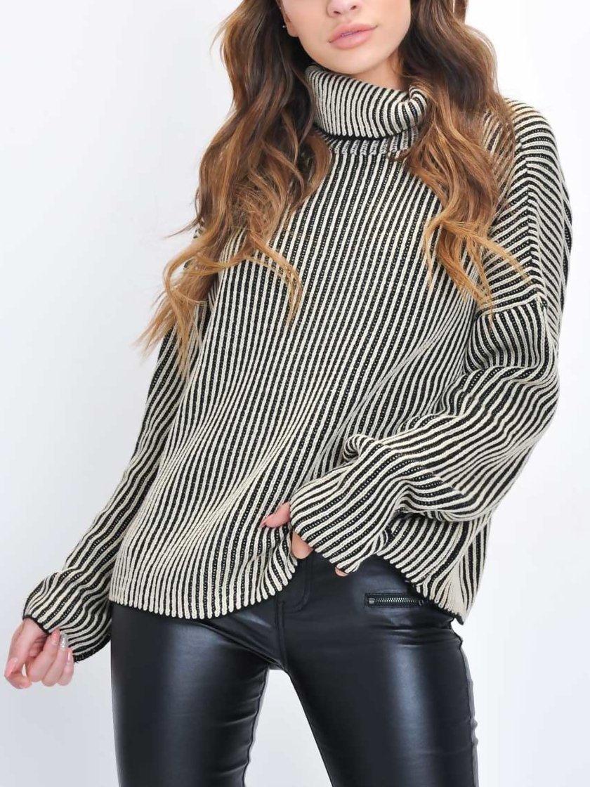 Striped Casual Sweater