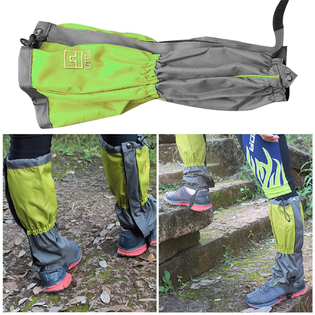2pcs Outdoor Waterproof Mountaineering Snow Cover Foot Sleeve High Quality