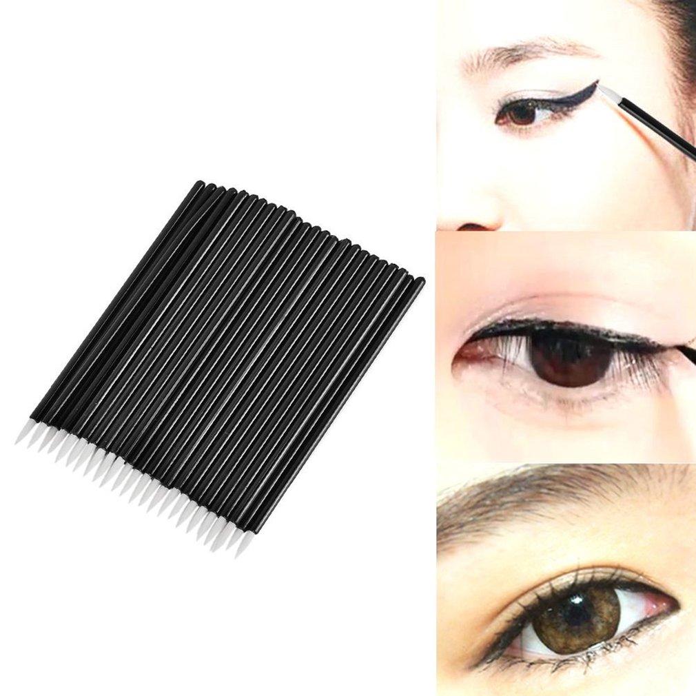 Makeup Brush Set 50PCS Eyelash Brush+50PCS Eyeliner Brush+50PCS Lip Brush