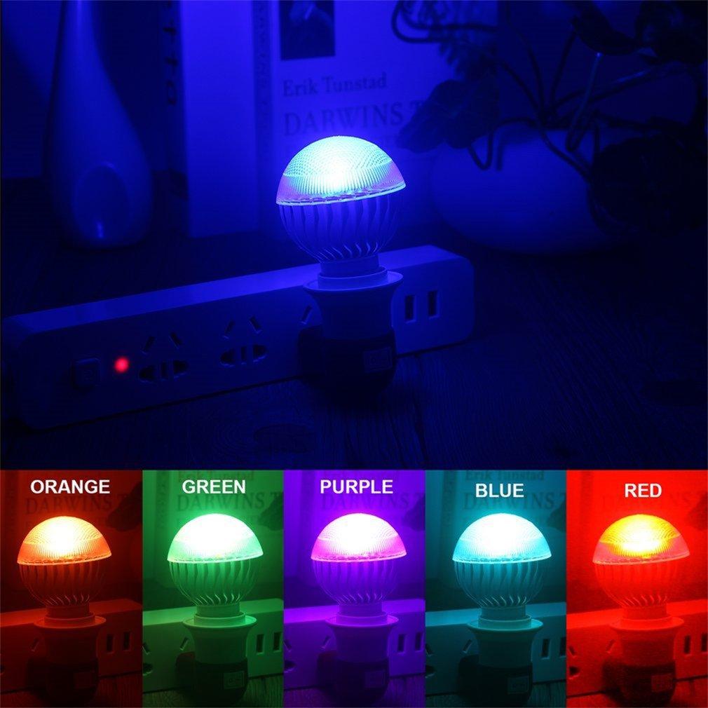 Colorful E27 2 Million Color RGB LED Light Flash Bulb with Remote Control