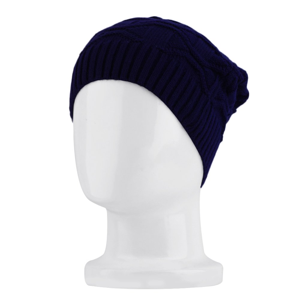 Fashion Women Knit Crochet Ski Hat Winter Warm Braided Baggy Beanie Cap