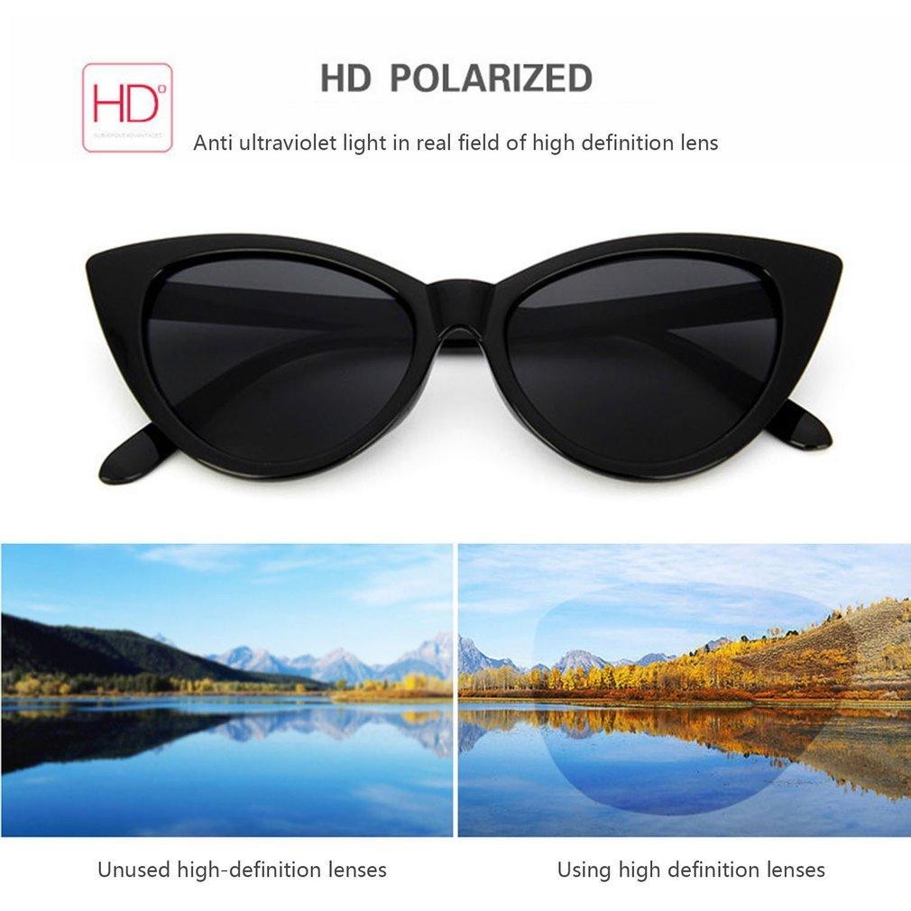 Vintage Cat Eye Women Sunglasses Classic Sexy Sun Glasses Ladies PC Frame Resin Lens Travel UV400 Eyewear Glasses
