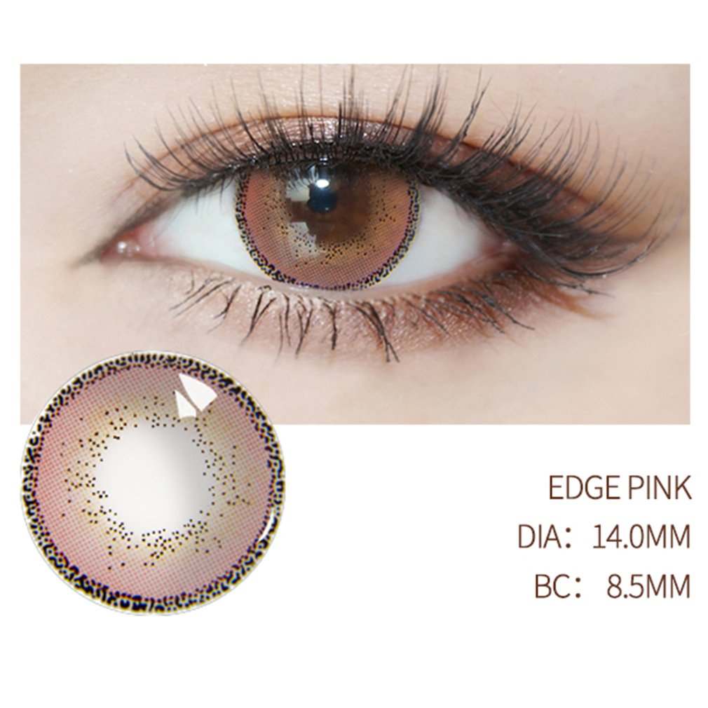 One Pair/set Fashionable Circle Big Eye Beauty Coloured Contact Lenses Big Eye