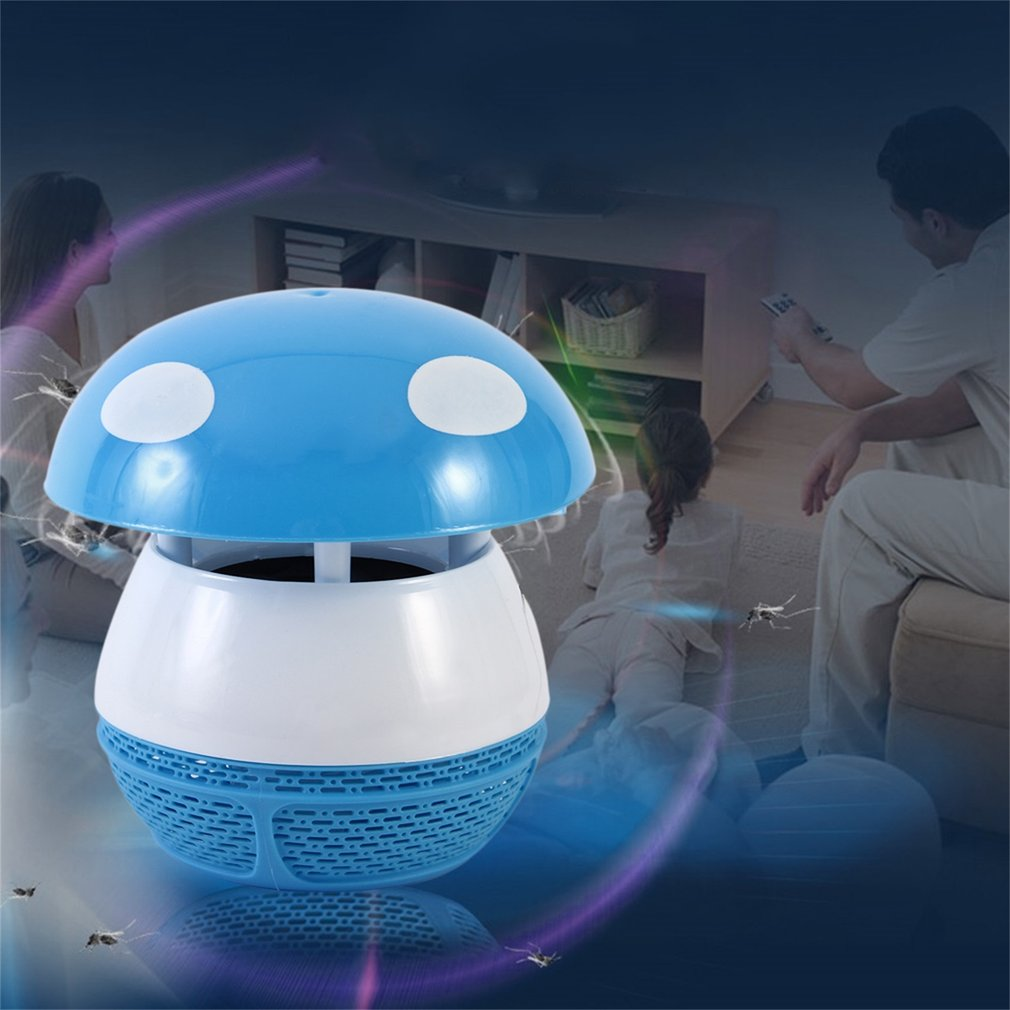 LED Mushroom Mosquito Repeller Electric USB Rechargeable Mosquito Killing Lamp