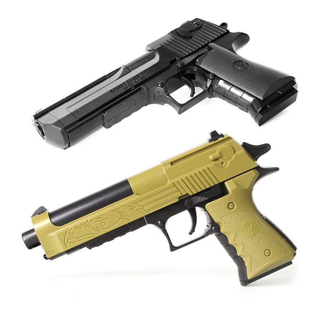 DIY Assemble Building Blocks Gun Toy Portable Size Children Boys Assembly Toy