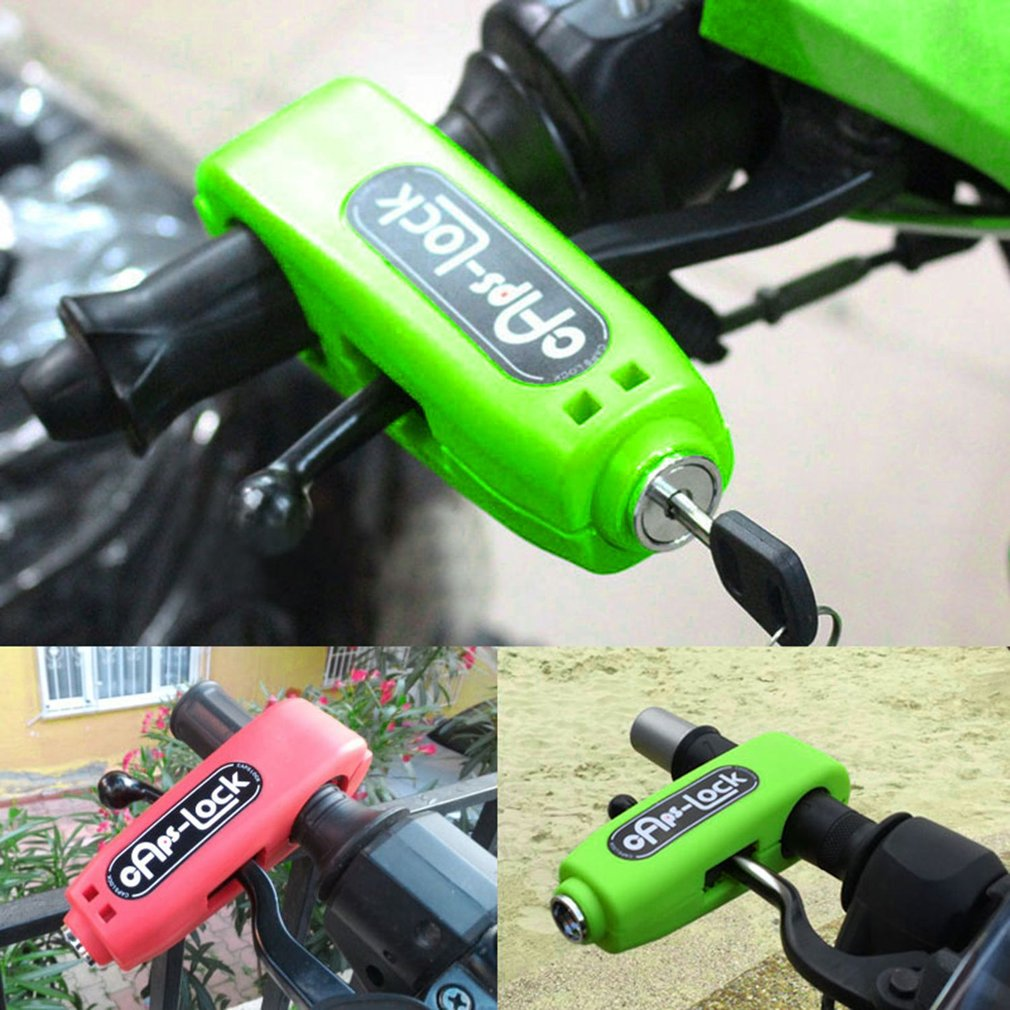 Universal Motorcycle Lock Motorbike Scooter ATV Brake Security Safety Lock
