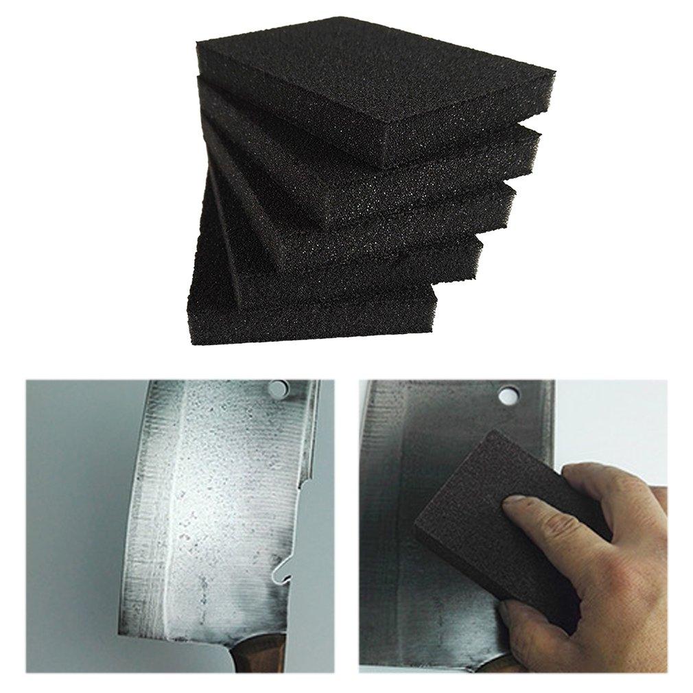 5pcs Magic Sponge Eraser Sponge Cotton Emery Sponges Kitchen Supplies Household Cleaning Tool Descaling Removing Rust