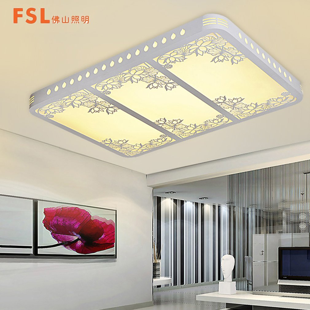FSL FAX50119 Living Room Lamp LED Flower Patterns Electrodeless Dimming