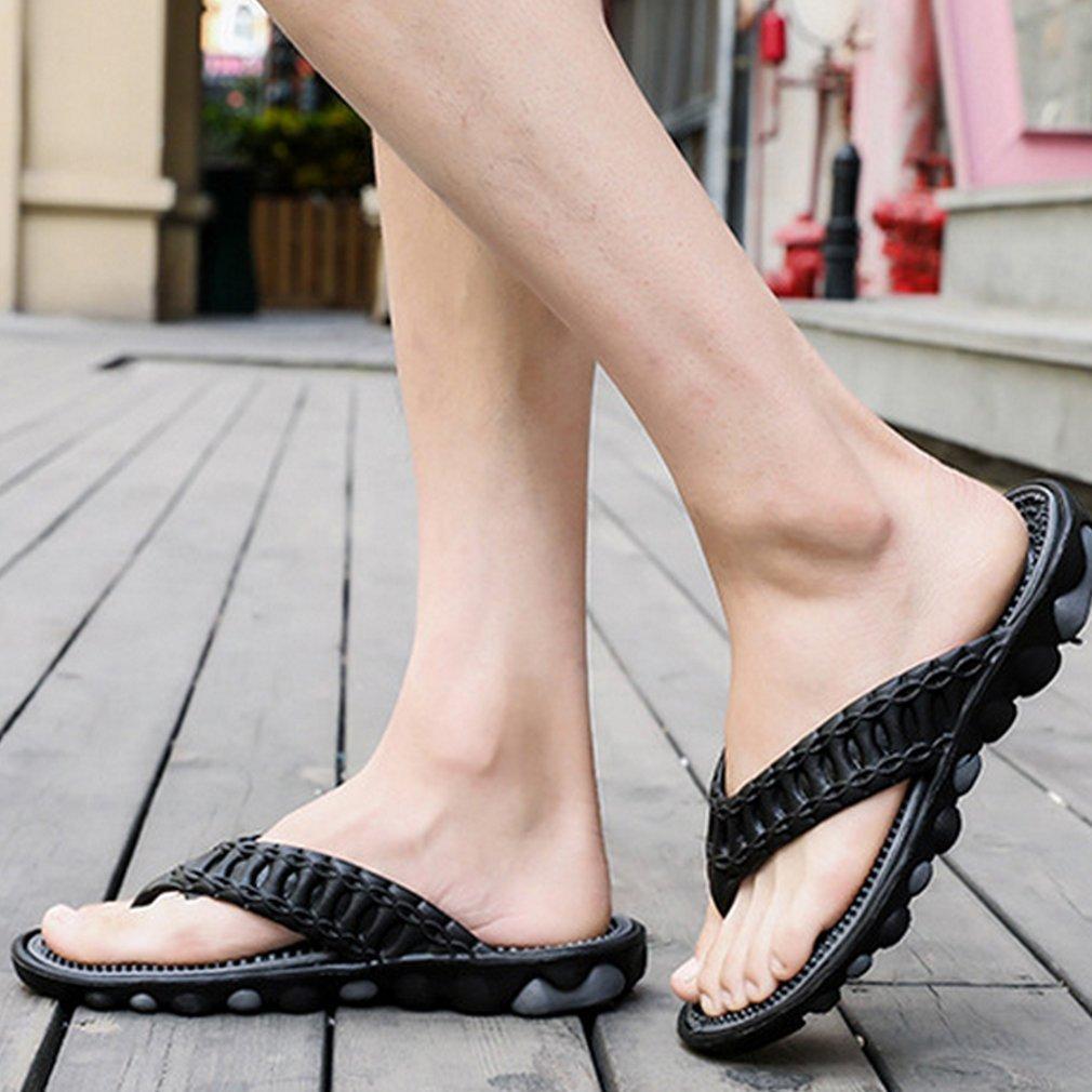 Comfortable Men Massage Flip Flops Shoes Male Flats Sandals Casual Beach Shoes Anti-skid Soft Shoes Male Slipper
