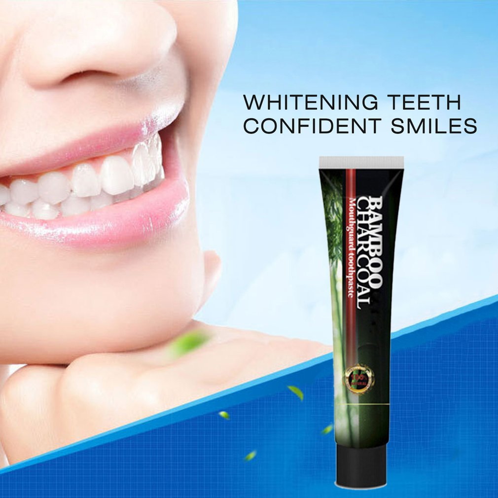 Bamboo Charcoal Oral Care Whiten Tooth Teeth Fresh Breath Toothpaste 120g