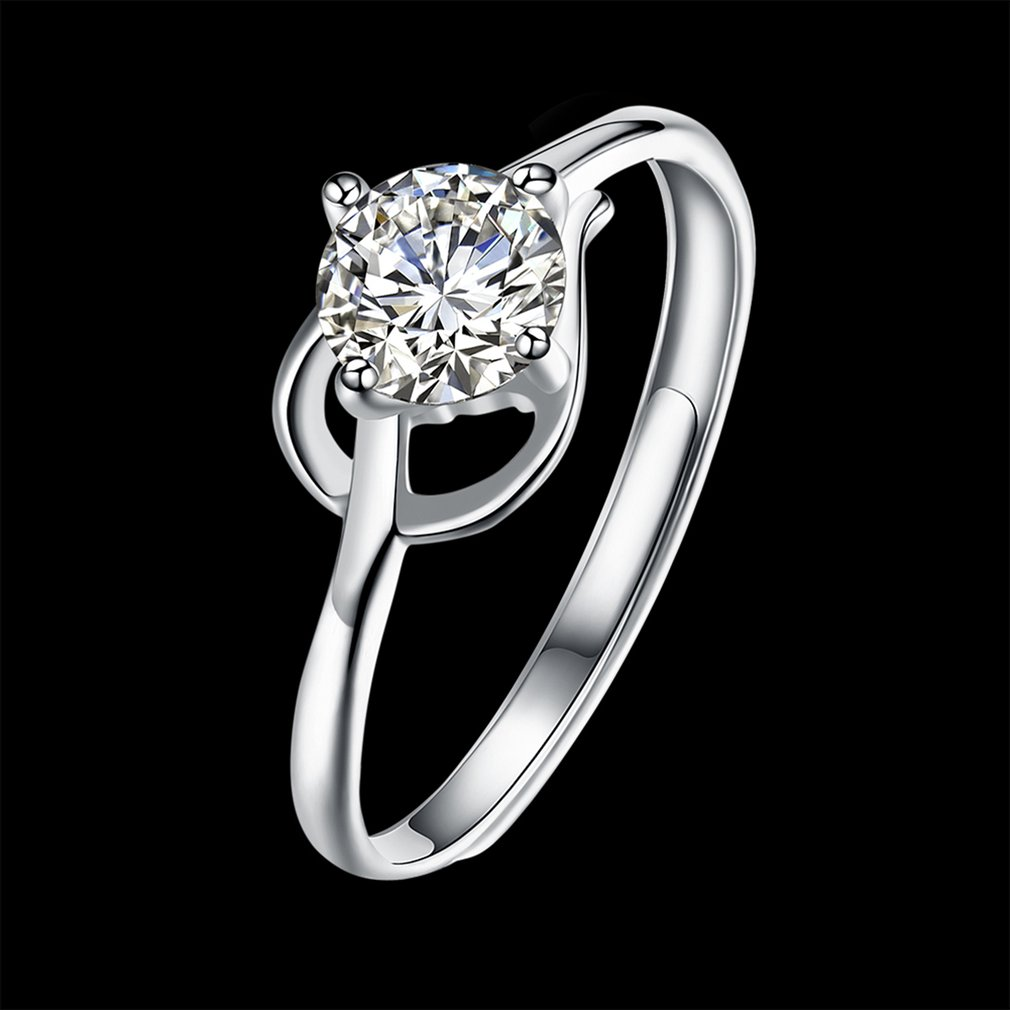 Woman Ring Prom Wedding Bridal Decorative Jewelry Valentine'S Day Present