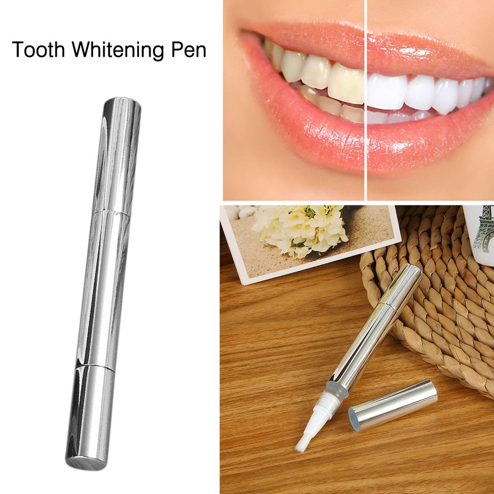 2ML Effective Teeth Whitening Pen Mint Fragrant Tooth Gel Whitener Bleach Stain Eraser Big Smile Teeth Care Pen