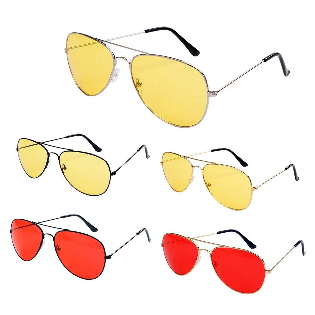 Night Vision Polarized Sunglasses Big Frame Men Women Goggles Glasses UV400 Sun Glasses Driver Night Driving Eyewear