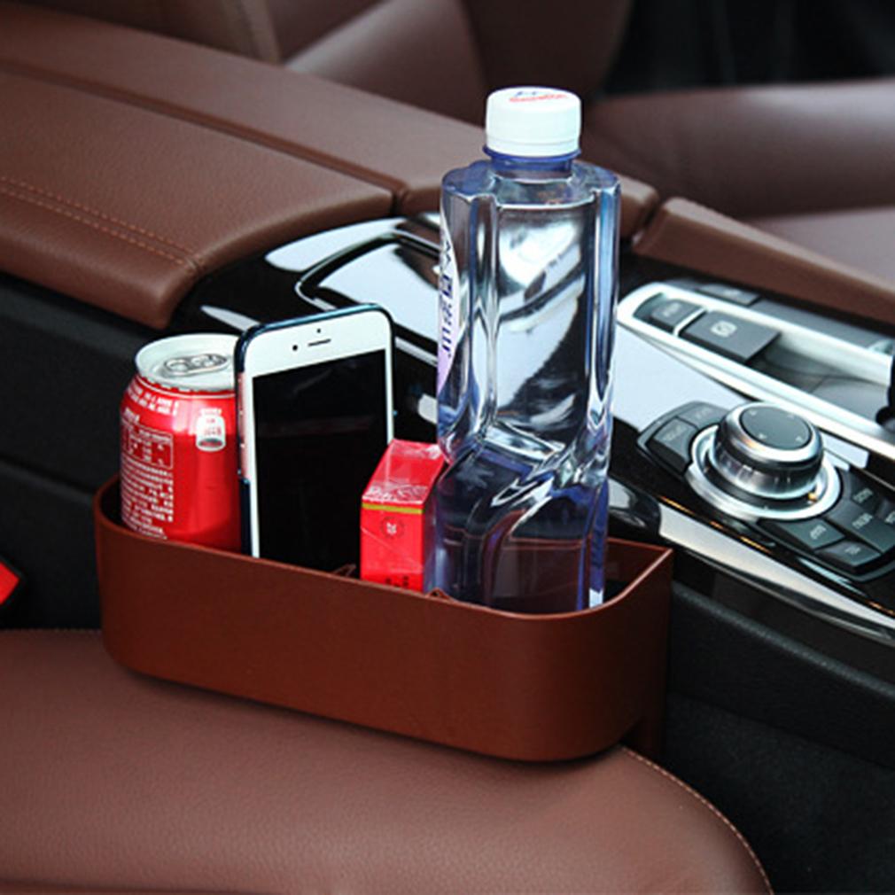 Car Phone Holder Pocket Storage Case Box Sundries Bag Organizer Plastic