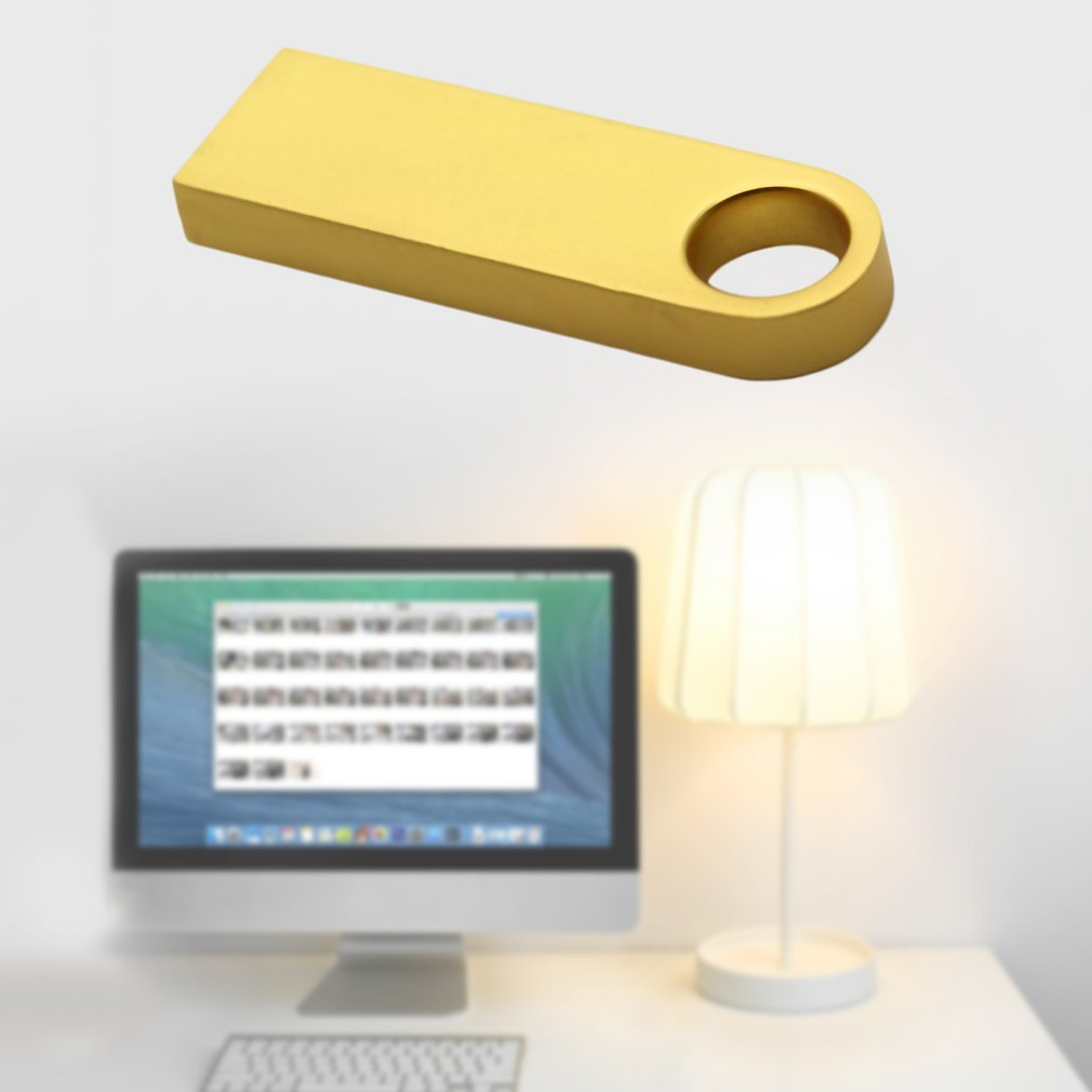 Metal Waterproof U Disk Flash Drive 8G USB 2.0 High Speed for Data Transport