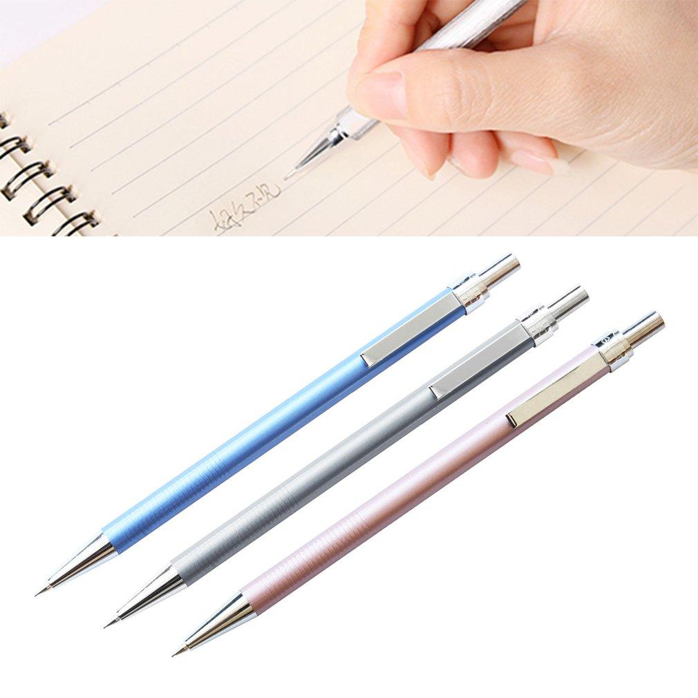 DELI 1pcs 0.5MM Drawing Solid Color Automatic Pencils Office School Supplies