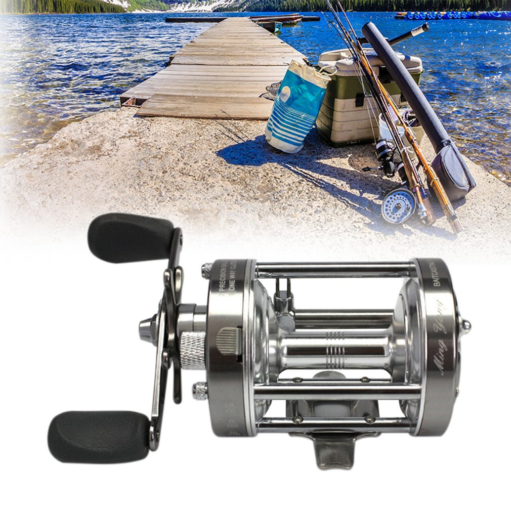 Misurelure CL50 Lure Fishing Reel Left-Right Hand Optional Metal Drum Wheel