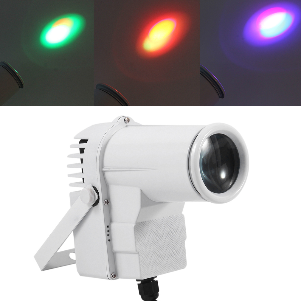 Multifunctional 3 In 1 9W LED LED RGB Par Light DMX Stage Light For Party