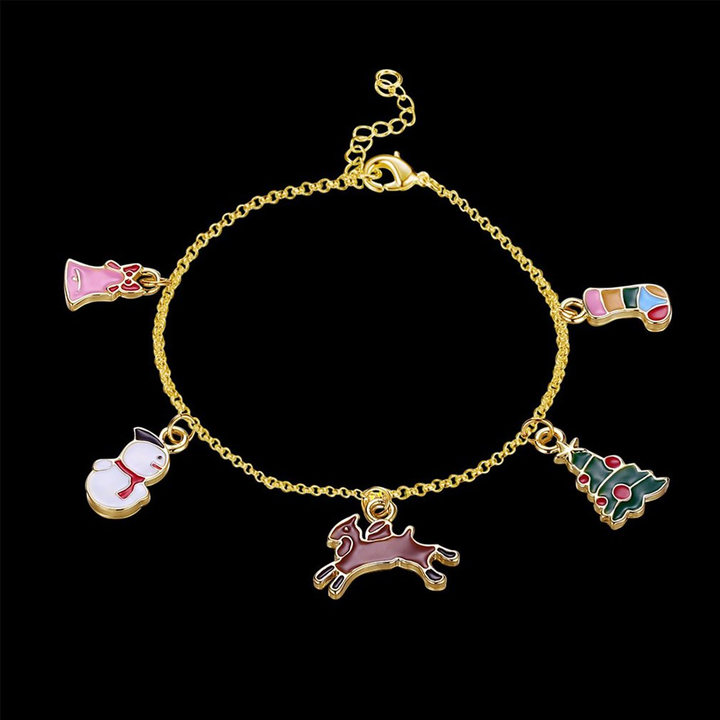 Trendy Women Elegant Geometric Shape Charm Bracelets & Bangles Fashion Ladies Party Wedding Adjustable Bracelets Jewelry