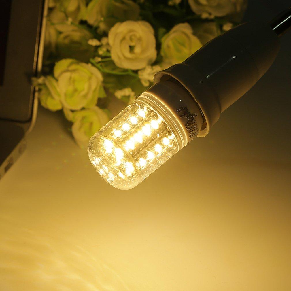 E27 5W 400LM White/Warm White Light CRI>80 36 LED SMD 4014 Corn Light Bulb