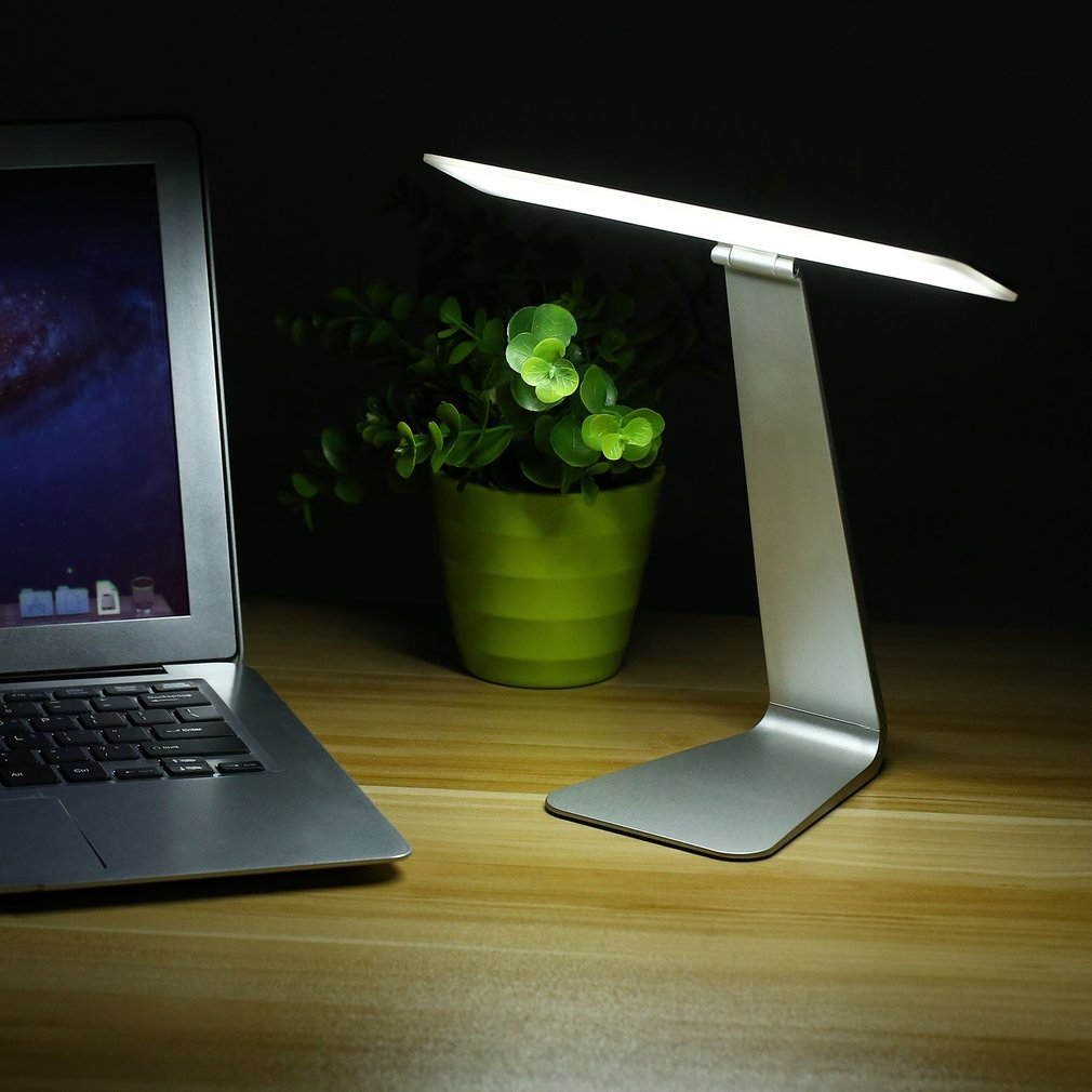 USB Touch Control 28LED 3 Level Light Eye-protection Desk Lamp Ultra-thin