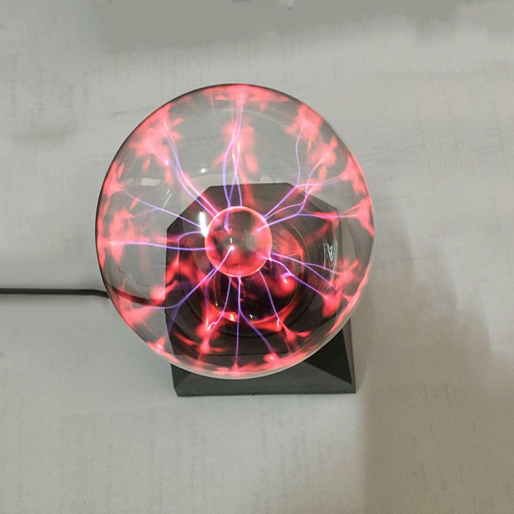 Magic Crystal Globe Desk Light USB Powered Plasma Ball Sphere Lightning Lamp