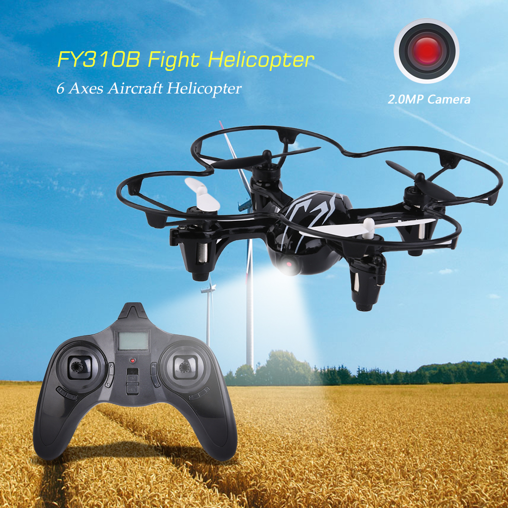FY310BHD 2.4G Quadcopter Aerocraft 6 Axes Quadcopter With 2.0MP Camera