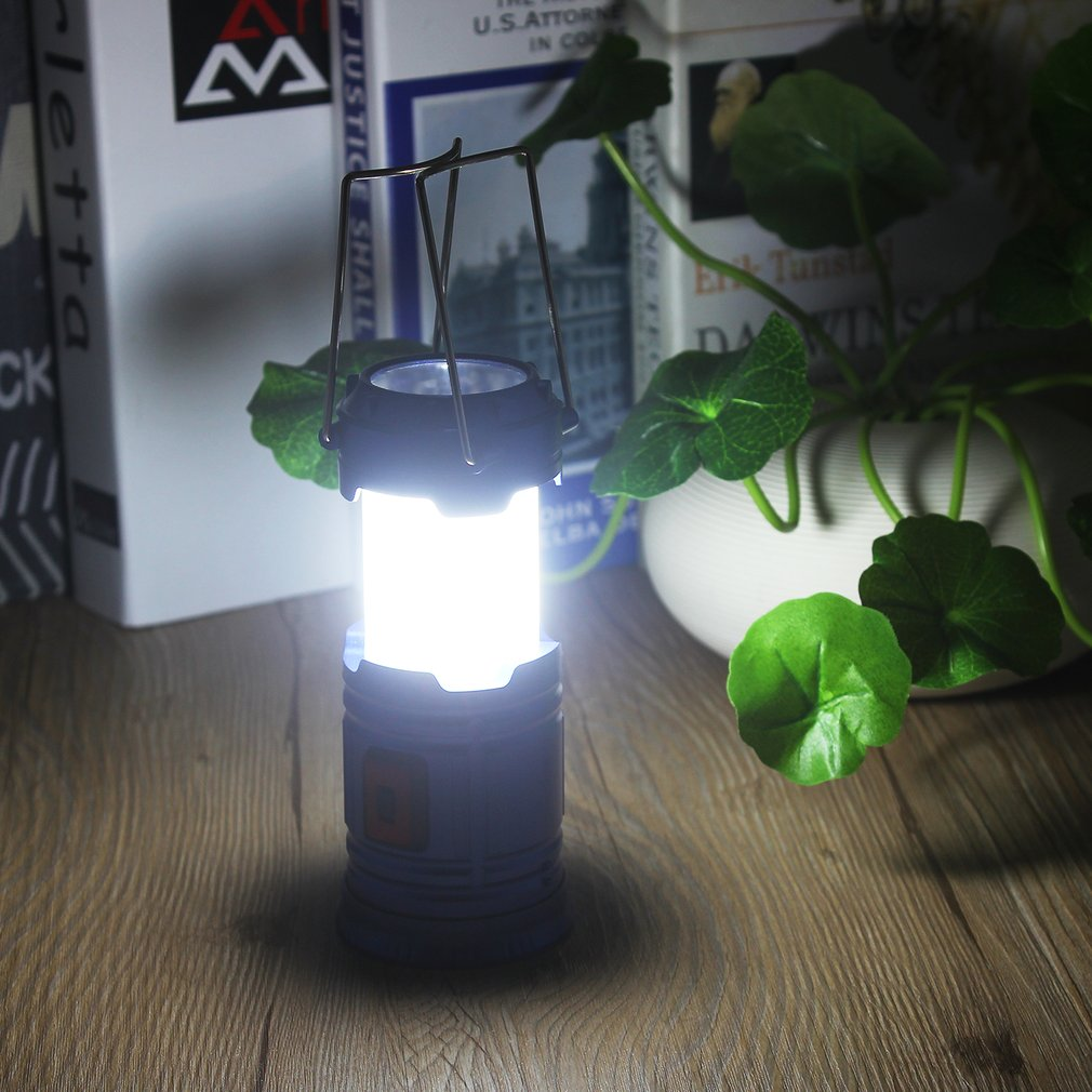 Super Bright Lightweight LED Camping Lantern Outdoor Portable Flashlight