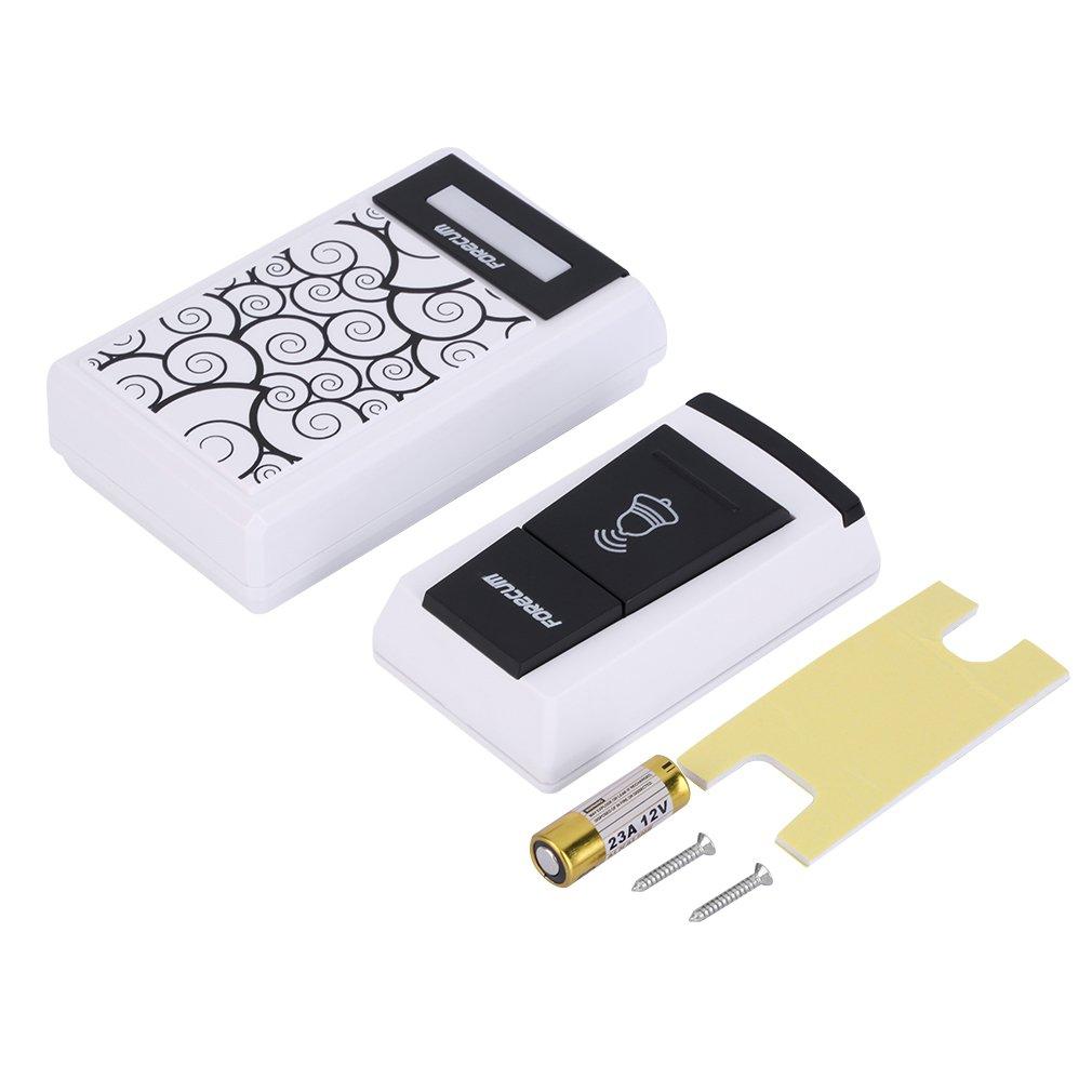 100 Range Smart Wireless Waterproof Electronic Doorbell Alarm Home Security