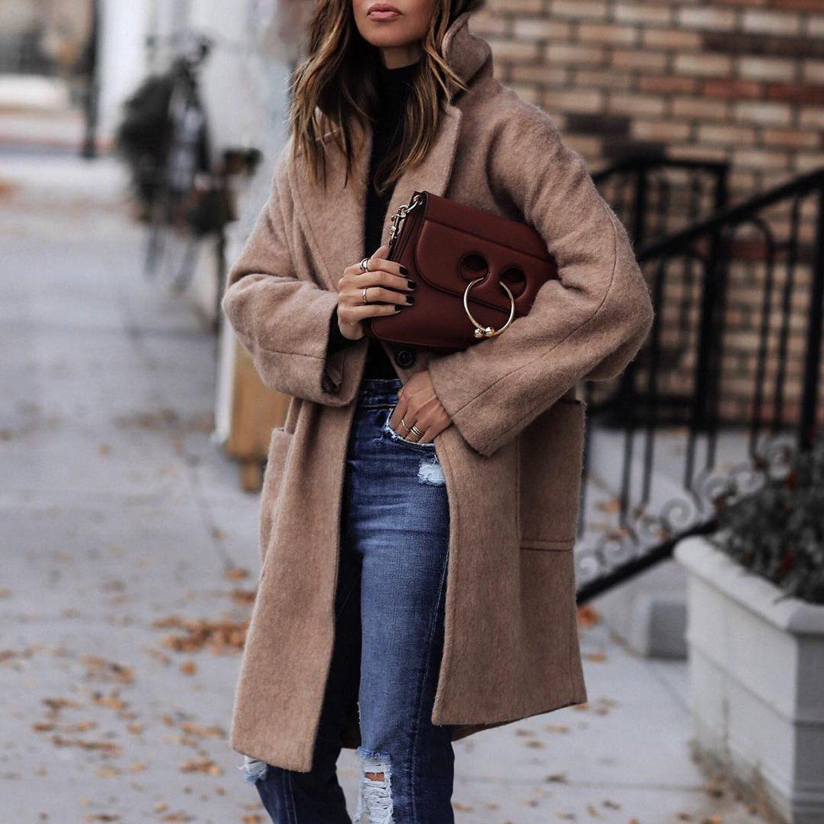 Fashion Long-Sleeved Outerwear