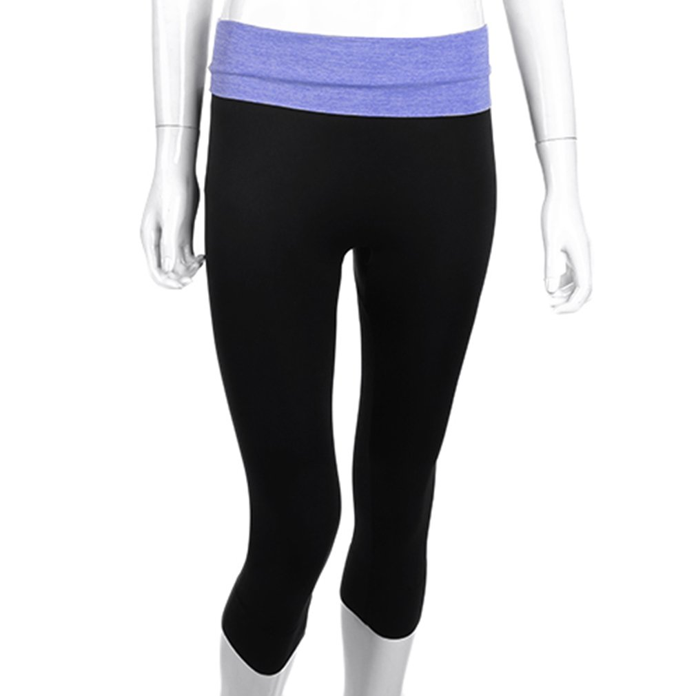 Hot Women's High Waist Running Tights YOGA Pants Sports Leggings Slim