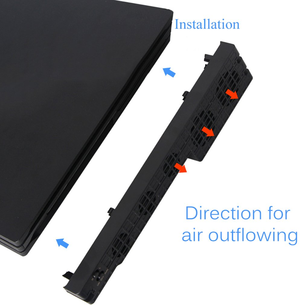 Lightweight Cooling Fan Side Mount Cooling Machine for Sony for Playstation 4