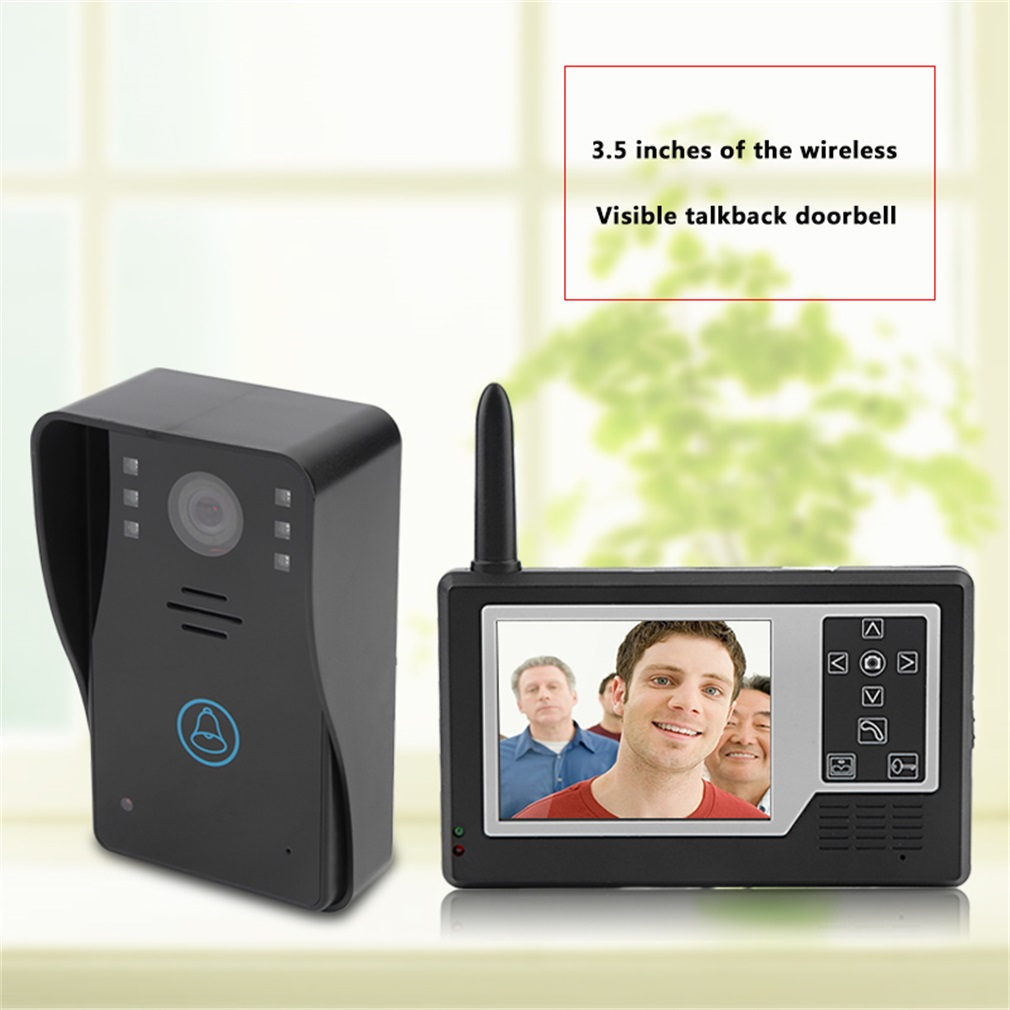 3.5 inches of the wireless visible  Video Door Phone